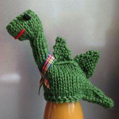 Innocent Smoothies Big Knit Hat Patterns - Nessie