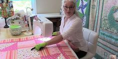 A Go-To Pattern for Fast Free Motion Quilting! You don't need to be a beginning free motion quilter to fall in love with this stitch pattern. It's fast and easy to do and produces a wonderful all-over quilting design. Laura from Sew Very Easy demonstrates the stitch in the following video. She includes many great …