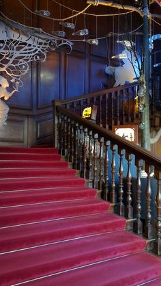 staircase to the State Apartments - Kensington Palace
