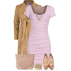"""""""Pink Dress"""" by daiscat on Polyvore"""