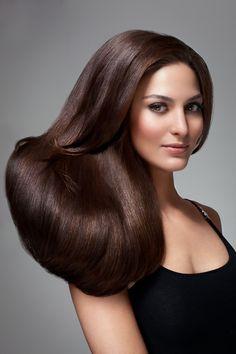 Christina Ionno by Jeff Tse Beautiful Long Hair, Gorgeous Hair, Beautiful Clothes, Medium Hair Styles, Natural Hair Styles, Long Hair Styles, Brunette Beauty, Hair Beauty, Rebonded Hair