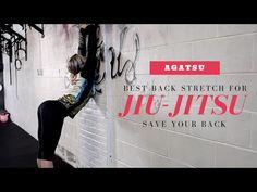 Jiu Jitsu Flexibility - Best Stretch for your Back - YouTube