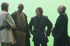 Chilling on the ROTS set
