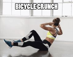 Abs Workout - Bicycle Crunches