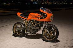Peel Out: MOD Moto's Very Orange Ducati 750SS