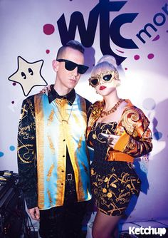 2ne1(CL) and Jeremy Scott! Come visit kpopcity.net for the largest discount fashion store in the world!!