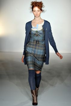 Sfilata Vivienne Westwood Red Label London - Collezioni Autunno Inverno 2012-13 - Vogue