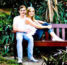 Couple relaxing in the Botanical Gardens Classic Portraits, Kwazulu Natal, Botanical Gardens, Hibiscus, Followers, Coast, Couple Photos, Couples, Couple Shots