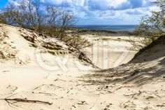 Qdiz Stock Photos | Sand dunes on the Baltic sea,  #Baltic #beach #blue #clouds #coast #coastline #curonian #destination #dune #Europe #footpath #grass #Hill #landscape #Lithuania #location #nature #neringa #nida #outdoor #sand #sandy #sea #seascape #shore #sky #spit #surf #track #trail #Travel #vacation #view #water #waves #way #wildlife