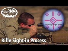 Rifle Sight-in Process - Long Range Shooting Technique Survival Weapons, Survival Skills, Camping Survival, Tactical Rifles, Firearms, Shooting Sports, Hunting Guns, Rifle Scope, Assault Rifle