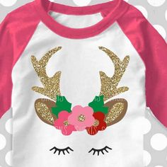 Look who has come to town for the holidays! The prettiest little reindeer Svg!