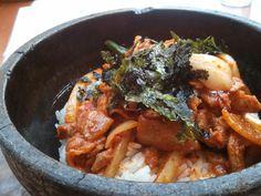 famous korean food Bibimbap!!
