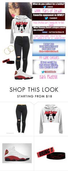 """""""WWE Inbox #2"""" by swaggwweforever ❤ liked on Polyvore featuring Retrò, Melissa Odabash, WWE, inbox and wweinbox"""