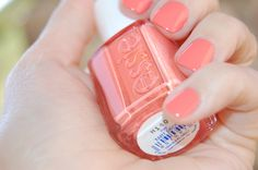 perfect peach for spring!