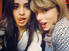 Taylor Swift y Camila Cabello ❤