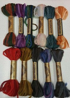 50 Yard Skeins of DMC #5 Pearl Cotton Fifty