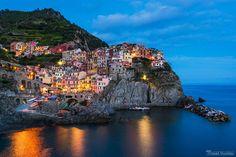 Manarola, Cinque Terre by Tomáš Vocelka on 500px