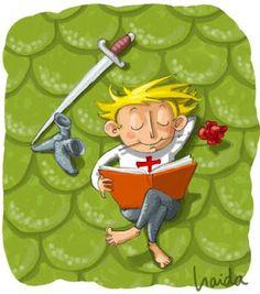 23 abril Sant Jordi i Dia del Llibre / Saint George and Book Day