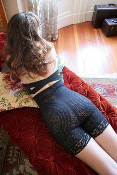 Dollhouse Bettie -  Rago High Waist Lacette Pantie Girdle Style #6207