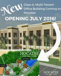 New Multi-Tenant Office Building Breaks Ground at Nocatee. #nocatee #growth