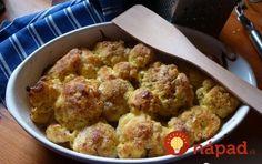 Tip, ako pripraviť úžasne chutný zapečený karfiol! My Recipes, Cooking Recipes, Russian Recipes, What To Cook, Main Meals, Cauliflower, Food And Drink, Low Carb, Treats