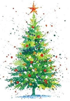 Diy christmas cards easy watercolor 19 ideas Diy christmas cards easy watercolor 19 ideas Best Picture For DIY Christmas wood For Your Taste You are looking for something, and Watercolor Christmas Cards, Christmas Tree Painting, Diy Christmas Cards, Noel Christmas, Christmas Images, Christmas Crafts, Christmas Decorations, Painted Christmas Cards, Christmas Cards Drawing