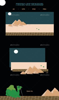 Pyramide Game Background (Backgrounds)