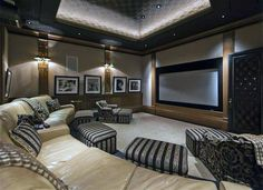 Numerous home theater seating choices for you to check out. See more ideas regarding Home theater seats, Home theater and Theater seating. Home Theatre, Home Cinema Room, Best Home Theater, At Home Movie Theater, Home Theater Rooms, Cinema Theatre, Home Design, Home Theater Design, Home Theater Seating