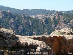 Le village de Piana / Corse