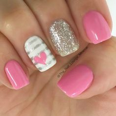 22 Best Valentine's Day Nail Designs for 2018 - Nail Art HQ