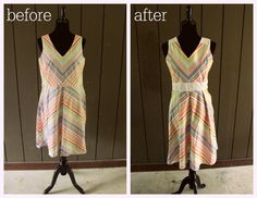 49 Dresses. Thrift store dresses remade