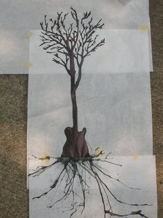 Oooohhhh..... incorporate the guitar to represent my dad into my family tree tattoo....