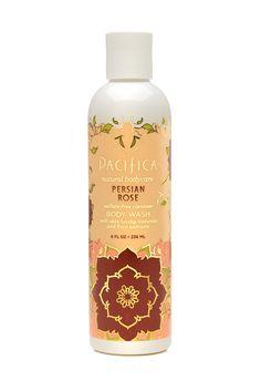 persian rose paraben free body wash