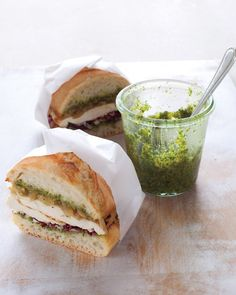 Parsley & Hazelnut Pesto w/ Gouda