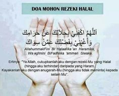 Com: Doa mohon rezeki Halal Hijrah Islam, Doa Islam, Islam Beliefs, Islamic Teachings, Islamic Love Quotes, Islamic Inspirational Quotes, Muslim Quotes, Motivational Quotes, Listen To Quran