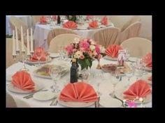 Сервировка праздничного стола - YouTube
