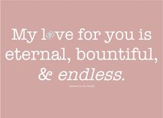 YES..YES..YES it is!! And it is FOREVER sweetheart!!! <3