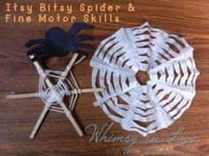 The itsy bitsy spider & fine motor skills by WhimsyinLove