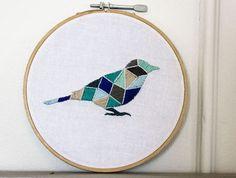 Modern Animal Embroidery