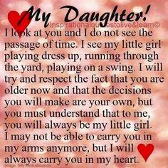 My Daughter!