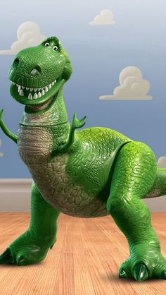 Dinosaur from toy story movie
