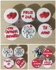 Oreo, Valentine Baskets, Gifts For Your Boyfriend, Fondant, Valentines Day, Bart Simpson, Baby Shower, Personalised Cupcakes, Dating Anniversary