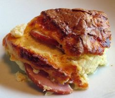 Canadian Bacon Strata - Would be great with Taylor ham as well!