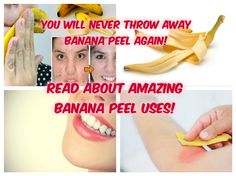 We all know that bananas are extremely health and delicious. But did you know that you can also use banana peel in many ways. Banana peels are full of antioxidants, minerals and vitamins, next time you eat a banana, don't forget to try out some of these awesome uses of it.