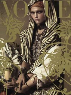 The Polyglot: From the Vogue Archives: Moroccan Holiday by Steven Meisel