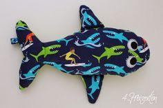 4 Freizeiten: Nähen: Eckberd der Wal ... oder ein kleiner Fischschwarm Hamburger Liebe Catch a Wave
