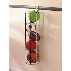 Rubbermaid 1784462 FastTrack® Vertical Ball Rack * Click on the image for additional details. (This is an affiliate link) #ExerciseBallsAccessories