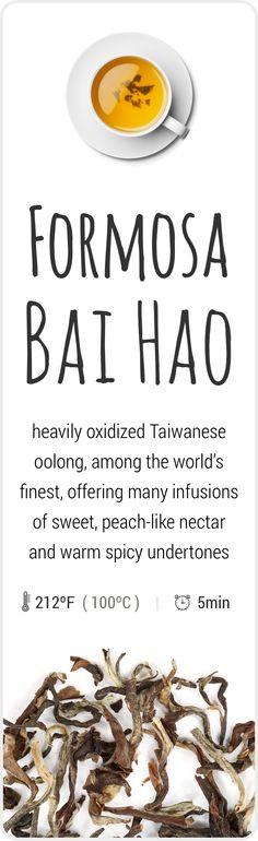 Farm-fresh Oriental Beauty (Bai Hao) oolong tea from Taiwan.