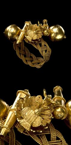 Africa | Bracelet from the Akan people | Gold ||| {GPA}