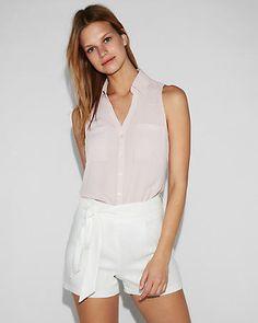e8566b93294072 slim fit sleeveless portofino shirt Portofino Shirt